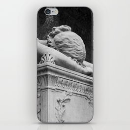 Mourning Angel iPhone Skin