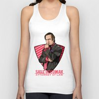 lawyer Tank Tops featuring You need a lawyer? by Akyanyme