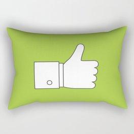 Thumbs up - Influencer's Paradise Rectangular Pillow