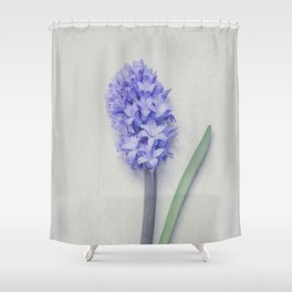 Lovely Bright Lilac Hyacinth Shower Curtain