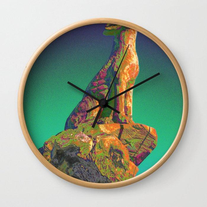 Coyote Call Wall Clock