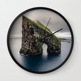 Drangarnir Wall Clock