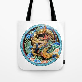 Chinese Dragon Art Mythical Tote Bag