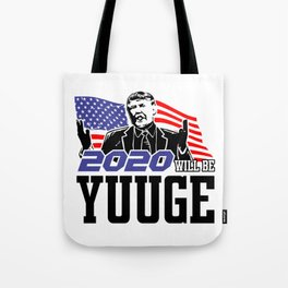 Re-Elect Trump for President. Keep America Great! Light Tote Bag