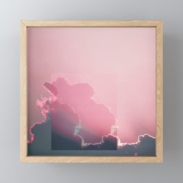 Pink Light Framed Mini Art Print