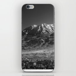 City of Arequipa in Peru with its iconic volcano Chachani iPhone Skin