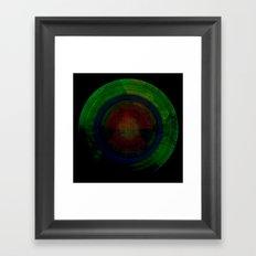 Hypernova II Framed Art Print
