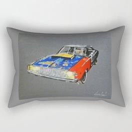 rusty dodge charger Rectangular Pillow