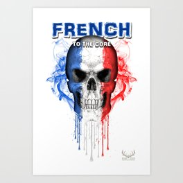 To The Core Collection: France Art Print