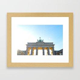 Ich Bin Ein Berliner Framed Art Print