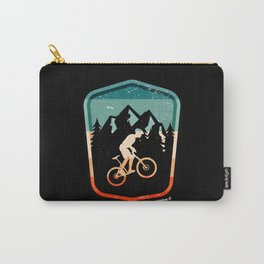 Mountain Bike Bicycle Downhill Shirt Carry-All Pouch