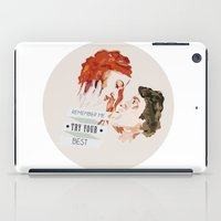 eternal sunshine iPad Cases featuring Eternal Sunshine of the Spotless Mind by rebeccalbe