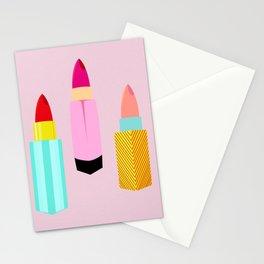 Dangerous Lipsticks Stationery Cards