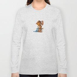 Rabbit catlover Long Sleeve T-shirt