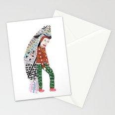 Fish Man Stationery Cards