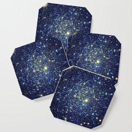galaxY Stars : Midnight Blue & Gold Coaster