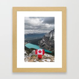Canada from above. Framed Art Print