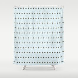 BEES, BEES everywhere Shower Curtain
