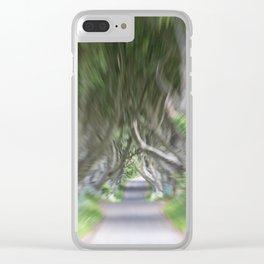 Dark Hedges, Northern Ireland Clear iPhone Case