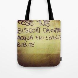 lista_della_spesa Tote Bag