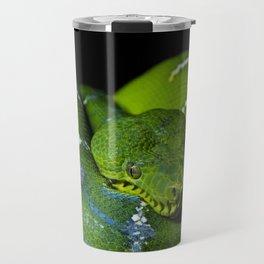 Emerald Boa Travel Mug