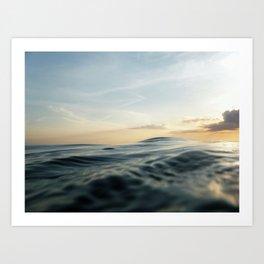 Velvet Sea Art Print