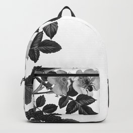 Birds and the Bees Black and White Backpack