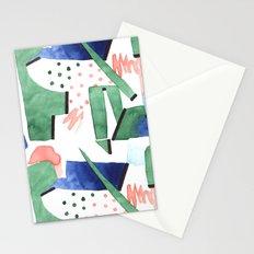 Bubblegum garden Stationery Cards