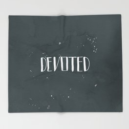 Devoted Themselves Throw Blanket