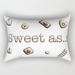 Sweet as Rectangular Pillow
