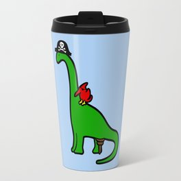 Pirate Dinosaur - Brachiosaurus Travel Mug