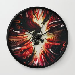 An Agony of the Heart Wall Clock