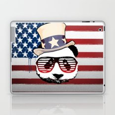 Patriotic Panda Laptop & iPad Skin