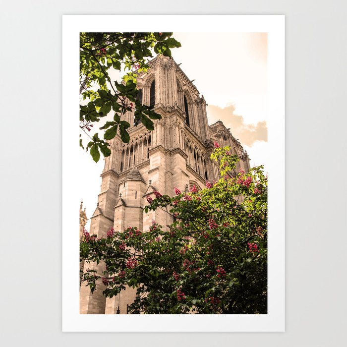 ArtWork Notre Dame Paris France Photo Art Art Print