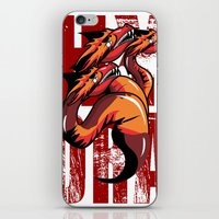 hydra iPhone & iPod Skins featuring Hydra by John Hernandez Art