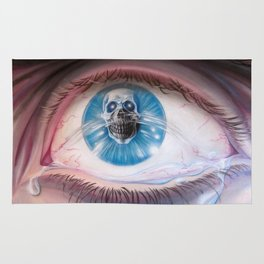 Death in the eyes Rug