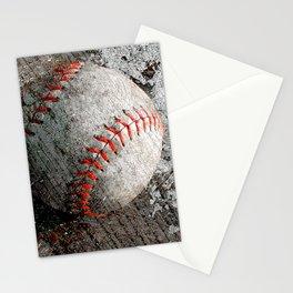 Baseball art Stationery Cards