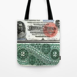 $2 Silver Certificate Tote Bag