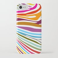 zebra iPhone & iPod Cases featuring Zebra by graphicinvasion