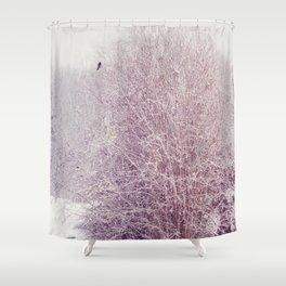 winter's snow Shower Curtain