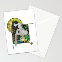 Prayer in Pose Stationery Cards