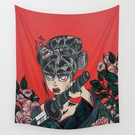 Onna-bugeisha Wall Tapestry