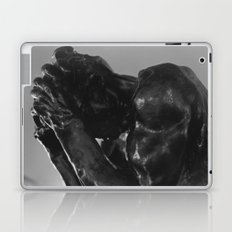 Auguste Rodin - Burger of Calais Statue Laptop & iPad Skin