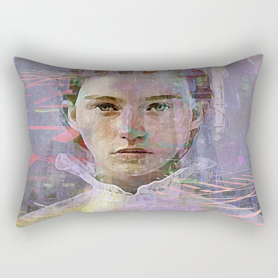 Come the right way Rectangular Pillow