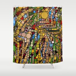 Bubble Fun 1018 Shower Curtain
