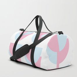 Tulips In Amsterdam - Pink and Blue Duffle Bag