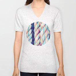 Rainbow Rope Unisex V-Neck