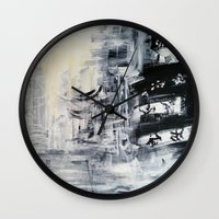 singapore Wall Clocks featuring Singapore II by Kasia Pawlak