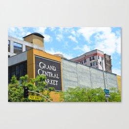 Grand Central Market Canvas Print