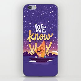 We know the way iPhone Skin